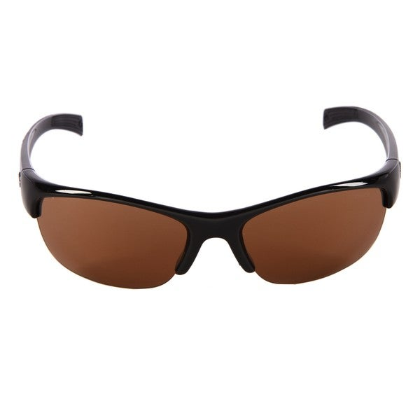 Bolle Men's 'Chase' Shiny Black Sport Sunglasses