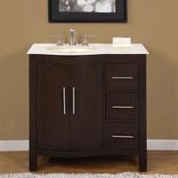 Bathroom Vanity Sink Cabinets. Silkroad Exclusive Natural Stone Countertop Bathroom Single Sink Vanity Cabinet Lavatory 36 Inch