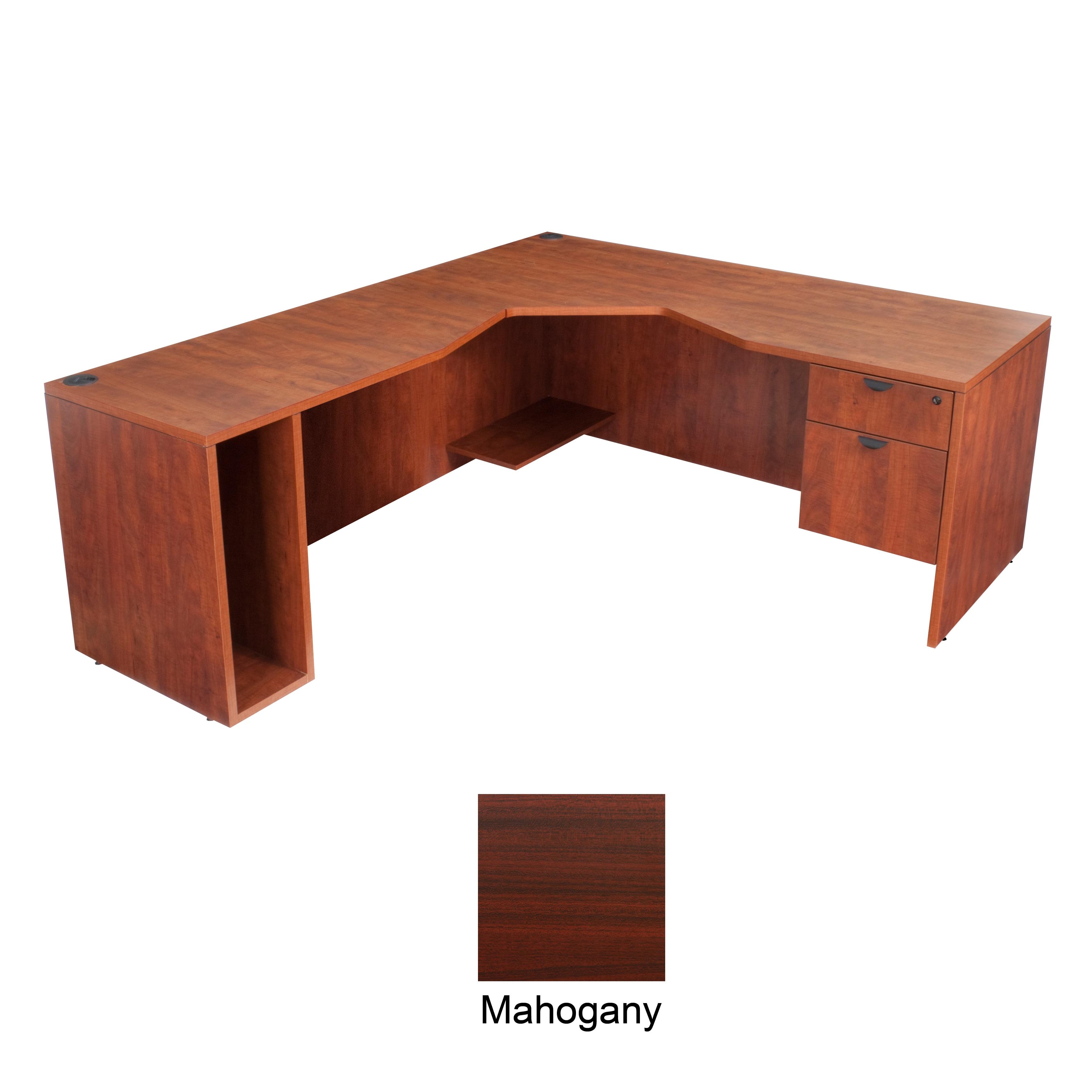 Regency Seating 71-inch Left Angle Corner Desk