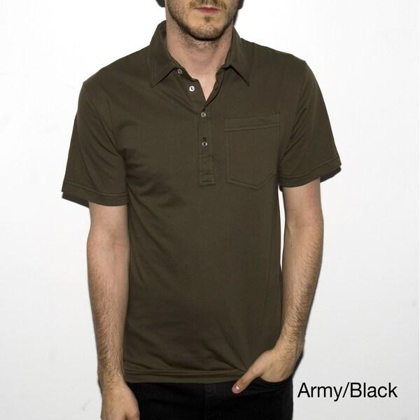 American Apparel Men's Fine Jersey Leisure Shirt