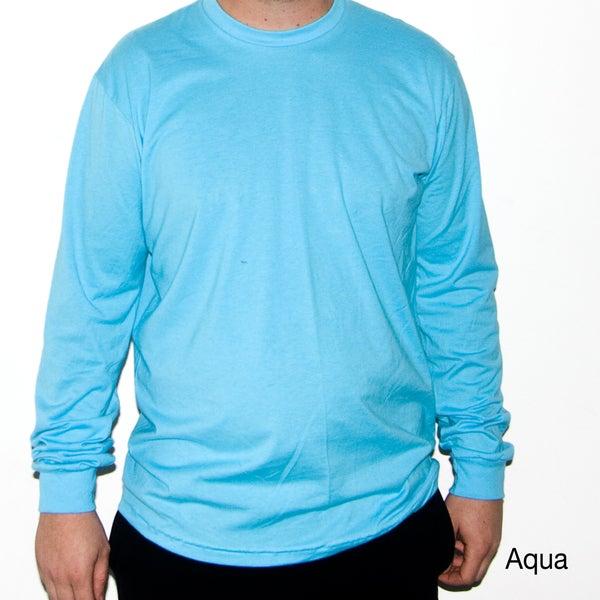 American Apparel Men's Fine Jersey Long Sleeve T-Shirt