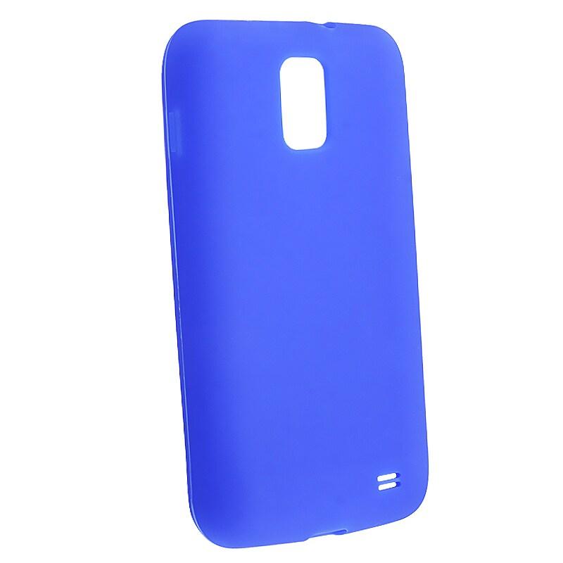 Blue Silicone Skin Case for Samsung Galaxy S II Skyrocket i727