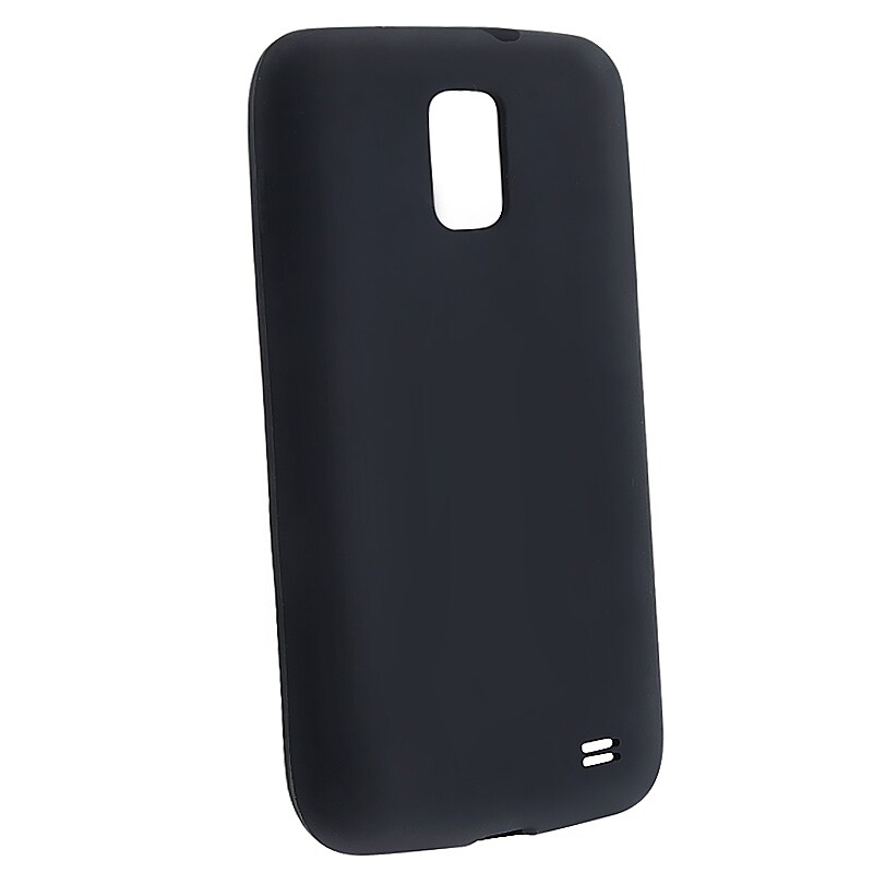 INSTEN Black Soft Silicone Skin Phone Case Cover for Samsung Galaxy S II Skyrocket i727