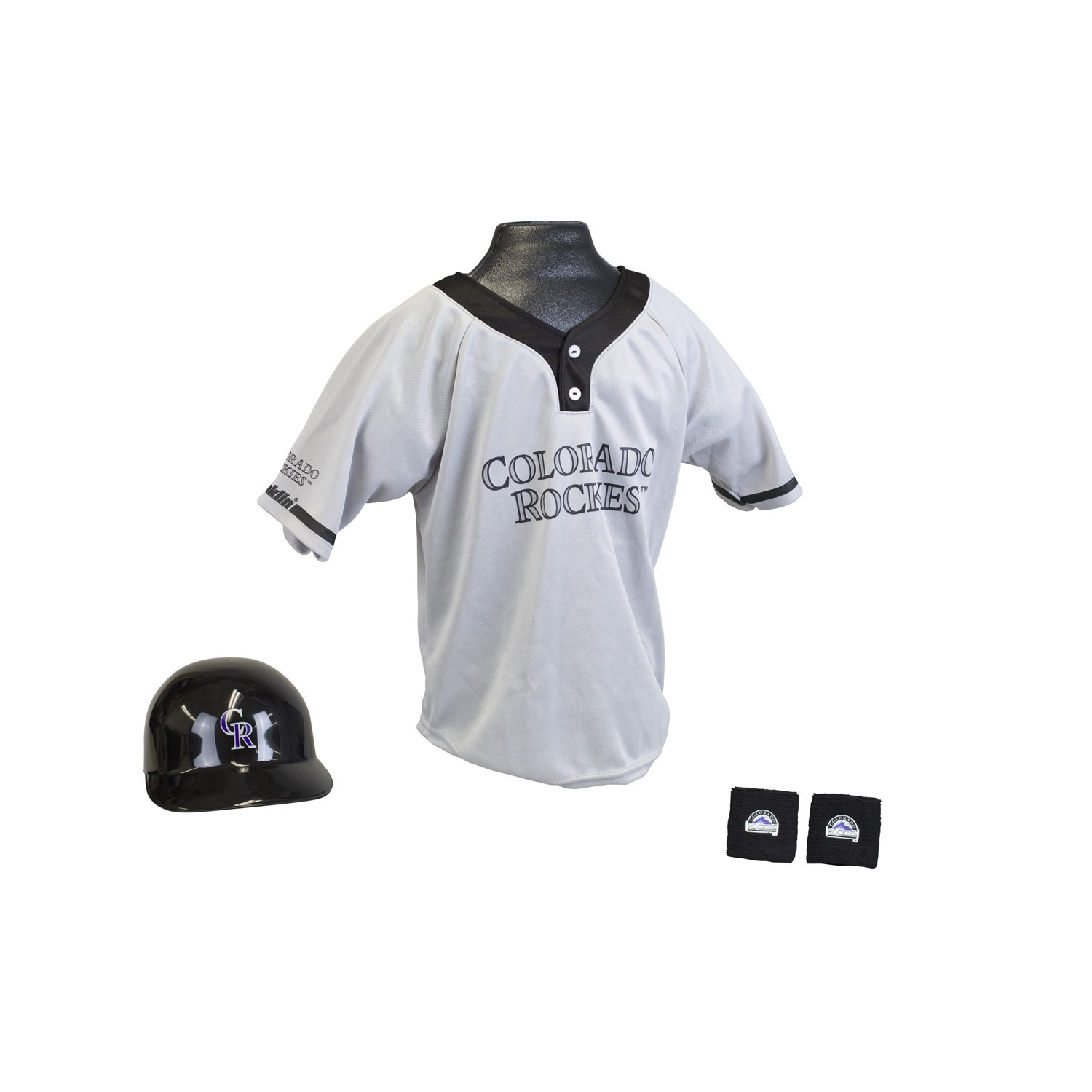 daf27d120acb Shop Franklin Sports MLB Colorado Rockies Kids Team Uniform Set - Free  Shipping On Orders Over  45 - Overstock.com - 6440048