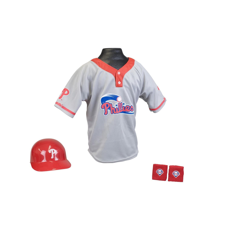 Franklin Sports Kids MLB Philadelphia Phillies Team Uniform Set