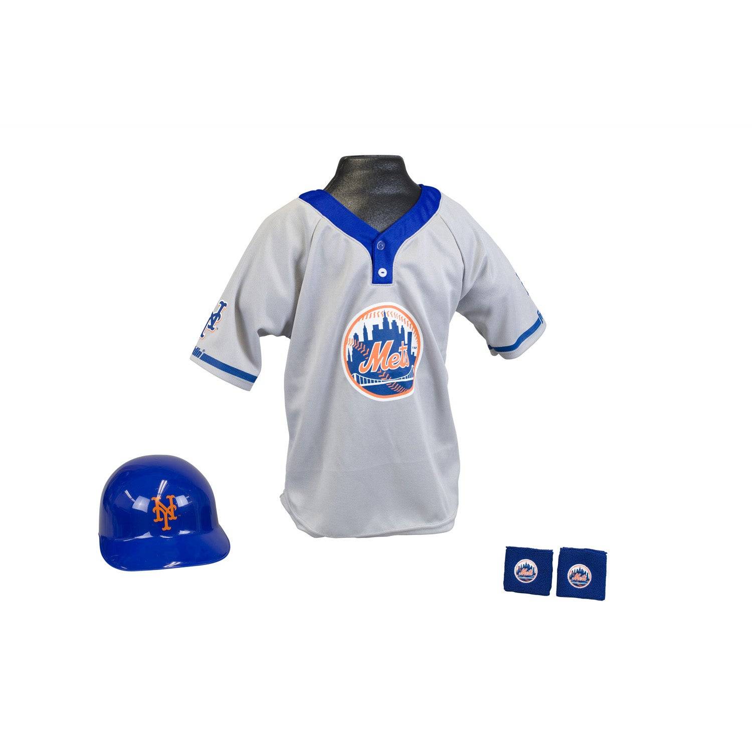 Franklin Sports Kids MLB New York Mets Team Uniform Set
