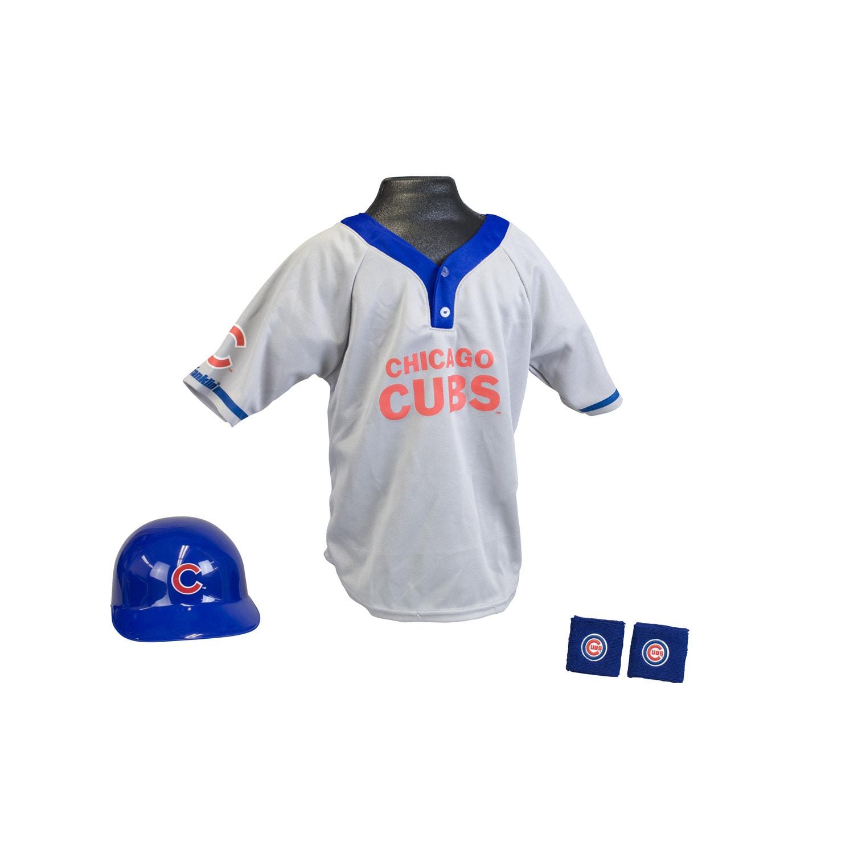size 40 2cb4d 5573b Franklin Sports Kids MLB Chicago Cubs Team Uniform Set
