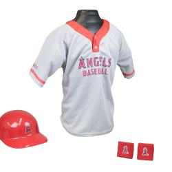 Franklin Sports Kids MLB Angels Team Set