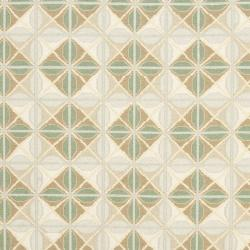 Sumak Flatweave Beige Diamond-Pattern Wool Rug (4 x 6) - Thumbnail 2