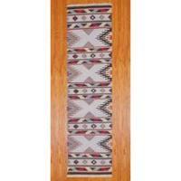 "Herat Oriental Indo Hand-woven Wool Kilim Runner (2'6 x 10') - 2'6"" x 10'"