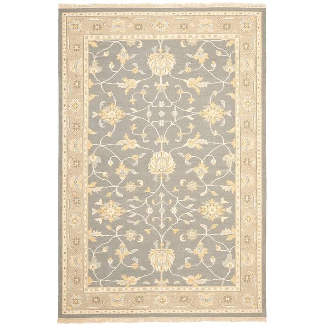 Couture Sumak Handmade Flatweave Oriental Grey/ Multi Wool Area Rug - 9' x 12'