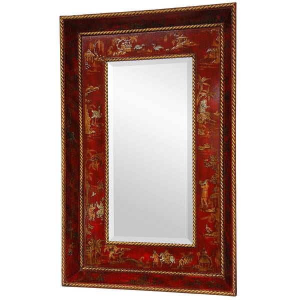 Red Lacquer Mirror (China)