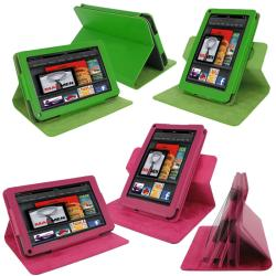 rooCASE Kindle Fire Dual-View Leather Case Cover - Thumbnail 1