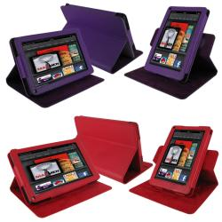 rooCASE Kindle Fire Dual-View Leather Case Cover - Thumbnail 2