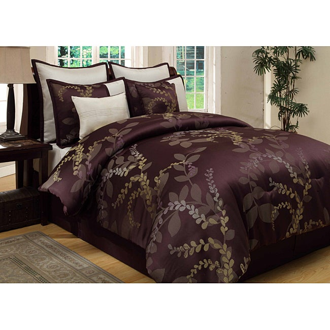 Shop Lenox 8 Piece King Size Comforter Set Free Shipping