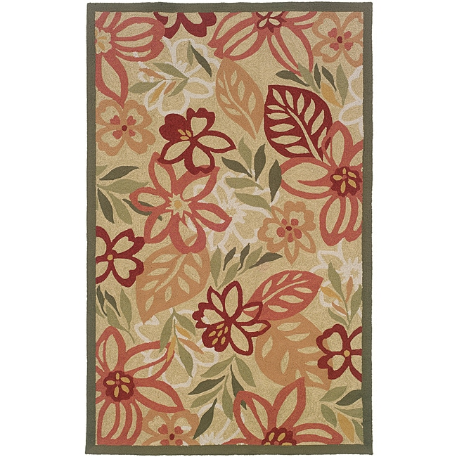 Orleans Multicolor Rectangle Rug (5' x 7'9)