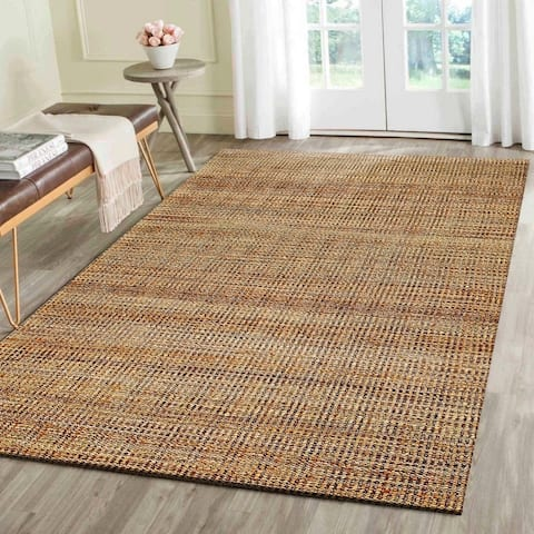 LR Home Hand Loomed Natural Fiber Brookside Hebrides Jute/Chenille Rug - 5' x 7'9""