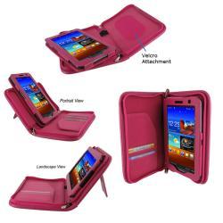 rooCASE Samsung Galaxy Tab 7.0 Plus Tablet Executive Portfolio Leather Case Cover - Thumbnail 1