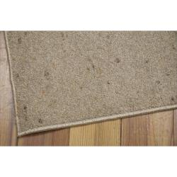 Nourison Hand-tufted Wool Values Mocha Rug (5' x 8')