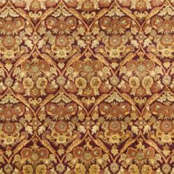 Safavieh Handmade Heritage Wine Red Wool Rug (7'6 x 9'6)