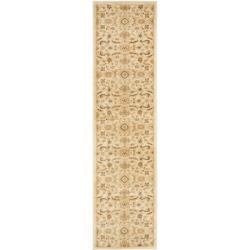 Safavieh Oushak Heirloom Traditional Cream/ Gold Runner Rug (2'3 x 8')