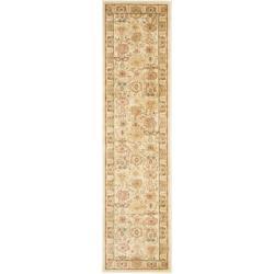 Safavieh Oushak Heirloom Traditional Cream/ Green Runner Rug (2'3 x 8')