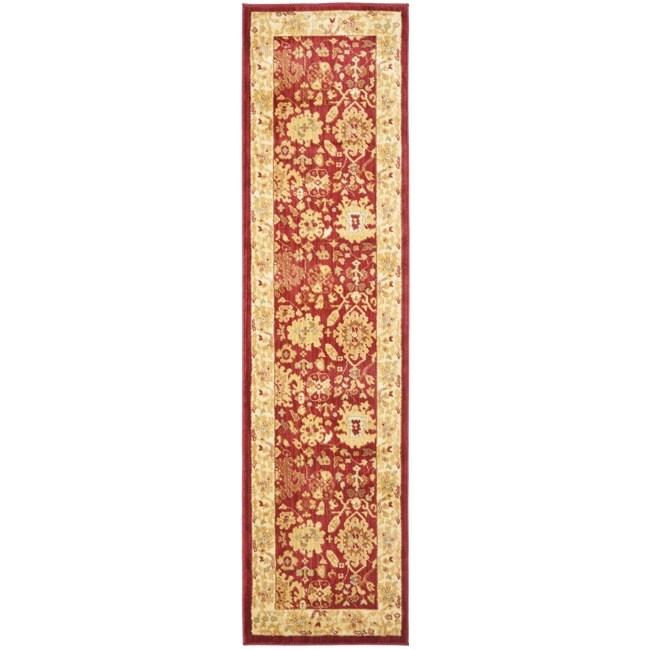 Safavieh Oushak Red/Cream Oriental Rug (2'3 x 8')