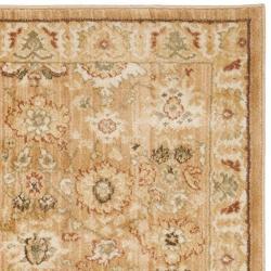 Safavieh Oushak Heirloom Traditional Light Brown/ Gold Runner Rug (2'3 x 8') - Thumbnail 1
