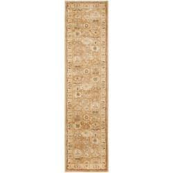 Safavieh Oushak Light Brown/ Gold Rug (2'3 x 8')