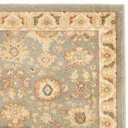 Safavieh Oushak Blue/ Cream Oriental Rug (2'3 x 8') - Thumbnail 1
