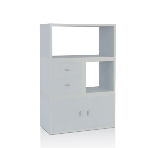 Furniture Of America Allure Modular Storage Cabinet In White (Set Of 4 )    Free Shipping Today   Overstock.com   14042964
