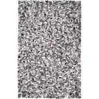 The Gray Barn Magda Hand-woven New Zealand Felted Wool Stone Look Textured Area Rug - 3'6 x 5'6