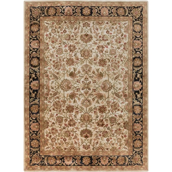 Hand-tufted Alpine Semi-worsted New Zealand Wool Area Rug - 8' X 11'