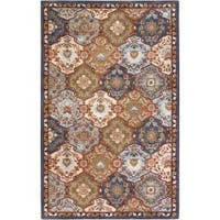 Hand Tufted Centerfield Wool Area Rug (7'6 x 9'6)