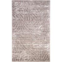 Hand-tufted Zebra Animal Print Clarkston Wool Area Rug (8' x 11')
