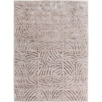 Hand-tufted Zebra Animal Print Clarkston Wool Area Rug - 8' x 11'