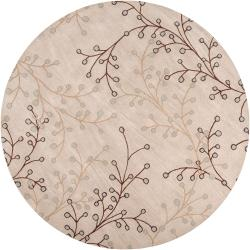"Hand Tufted Annabella Floral Wool Rug (9'9"" Round)"