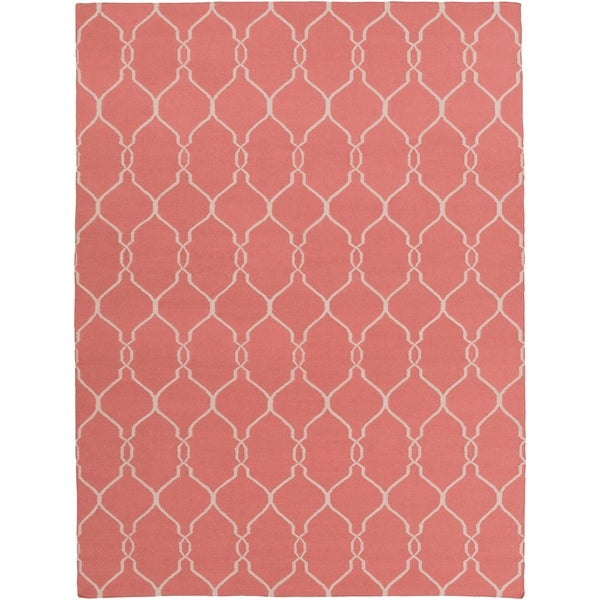 Hand Woven Farr Wool Area Rug - 8' x 11'