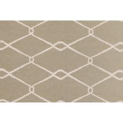 Jill Rosenwald Hand Woven Fayette  Wool Rug (8' x 11')