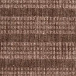 Hand-crafted Dark Brown Solid Casual Indus Valley Wool Rug (8' x11') - Thumbnail 1