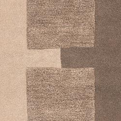 Hand-tufted Contemporary Brown Kanosh New Zealand Wool Abstract Rug (5' x 8') - Thumbnail 2