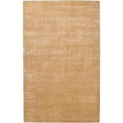 Hand Knotted Marriot Abstract Design Wool Rug (5' x 8')