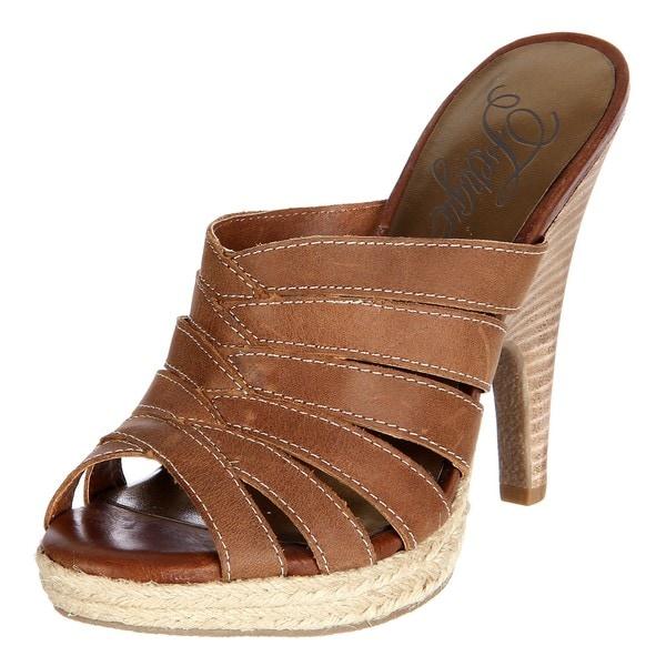 Fergie Women's 'Klouse' Bark Platform Sandals
