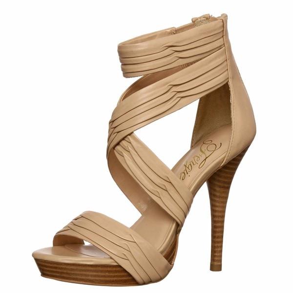 Fergie Womens Sanibel Nude Platform Sandals - Free Shipping Today - Overstockcom -7388