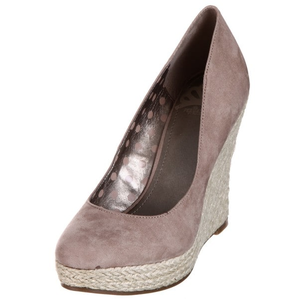 Fergie Women's 'Ultimate' Mocha Wedge Pumps