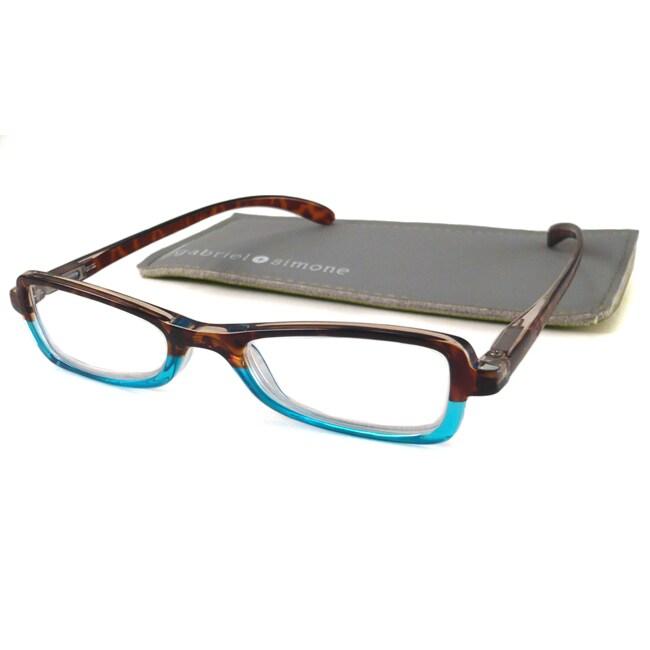 Gabriel+Simone Women's 'Colette' Two-Tone Reading Glasses