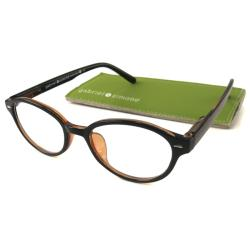 Gabriel+Simone Women's 'Mademoiselle' Round Black Reading Glasses (More options available)