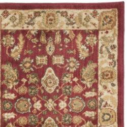 Safavieh Oushak Red/ Cream Runner Rug (2'3 x 8') - Thumbnail 1