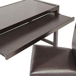 Astoria Brown Modern Desk and Chair Set