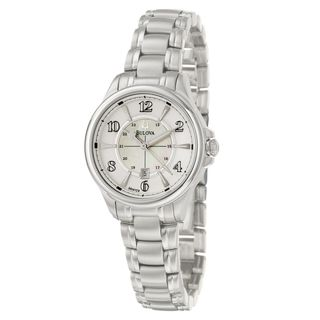 Bulova Women's 96M109 'Adventurer' Polished and Brushed Stainless Steel Quartz Watch